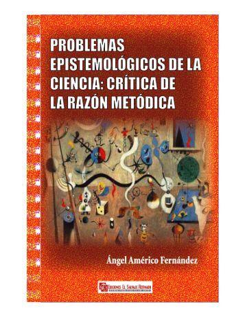 """Libro """"Problemas epistemológicos de la ciencia""""."""