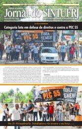 Categoria luta em defesa de direitos e contra a PEC 55
