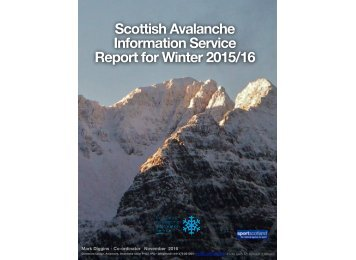 Report for Winter 2015/16