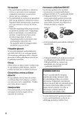 Sony BDP-S1100 - BDP-S1100 Istruzioni per l'uso Sloveno - Page 4