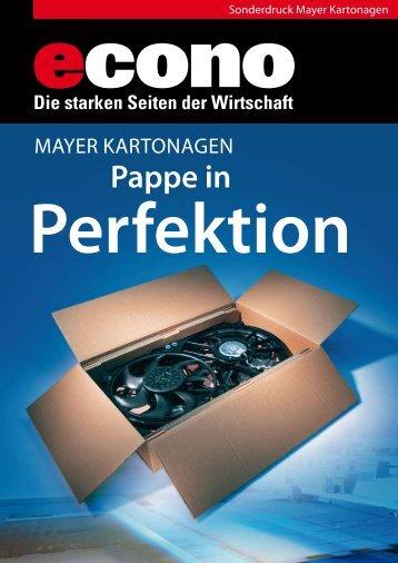 Perfektion - Mayer Kartonagen