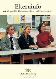 Eltern-Info für gewählte Elternvertreter - Kepler-Gymnasiums