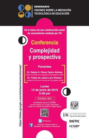Poster SEMIVisiones JUNIO 13