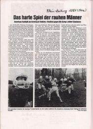 Koblenz Huskies 1985