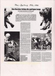 Koblenz Huskies 1988