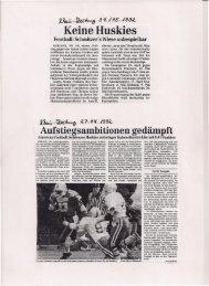 Koblenz Huskies 1992