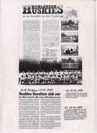 Koblenz Huskies 1995