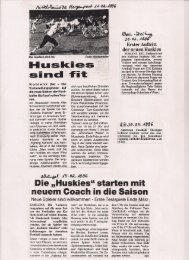 Koblenz Huskies 1996