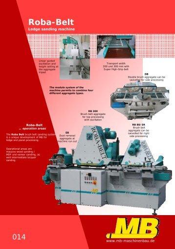Roba-Belt - MB Maschinenbau
