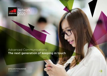 Advanced Communications The next generation of keeping in touch