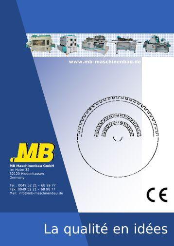 Roba-Tech - MB Maschinenbau