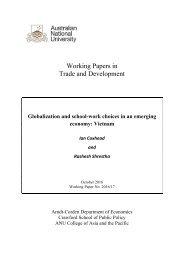 Trade and Development