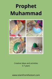 Prophet Muhammad Blog Book