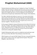 Prophet Muhammad Blog Book - Page 4