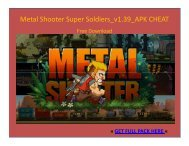 Metal Shooter Super Soldiers_v1.39_APK CHEAT FREE DOWNLOAD