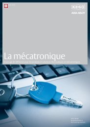 La mécatronique - ASSA ABLOY (Switzerland) AG