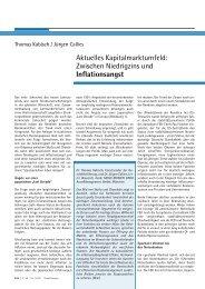 Inflationsangst - MEAG Munich Ergo Asset Management GmbH