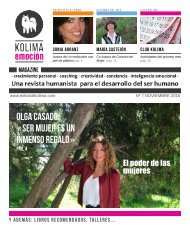 KOLIMA-EMOCION Magazine Mes de Noviembre