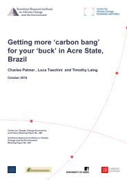 Getting more 'carbon bang' for your 'buck' in Acre State Brazil