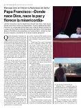 Papa Francisco «Donde nace Dios nace la paz y florece la misericordia» - Page 6