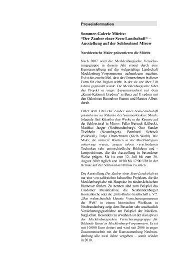 PDF (15.9 K) - Mecklenburgische Versicherungsgruppe