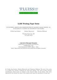 LLEE Working Paper Series
