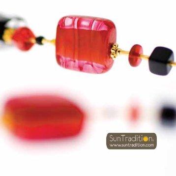 Bijoux de verre de Murano SunTradition