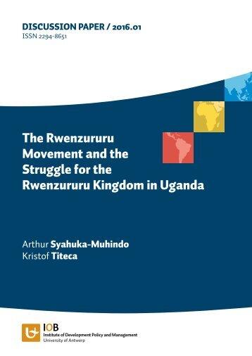 Rwenzururu Kingdom in Uganda