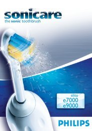 Philips Sonicare Elite Brosse à dents électrique - Mode d'emploi - ITA