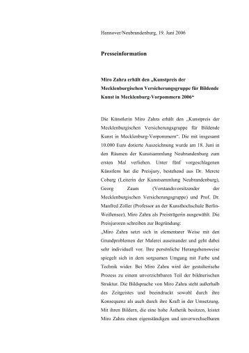 PDF (143 K) - Mecklenburgische Versicherungsgruppe