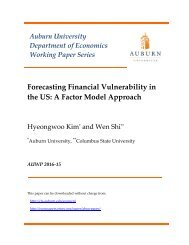 Forecasting Financial Vulnerability in the US A Factor Model Approach