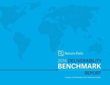 2016 DELIVERABILITY REPORT