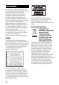 Sony BDV-EF1100 - BDV-EF1100 Istruzioni per l'uso Bosniaco - Page 2