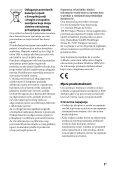 Sony BDV-EF1100 - BDV-EF1100 Istruzioni per l'uso Bosniaco - Page 3