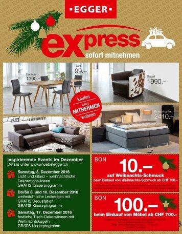 Prospekt Express X-Mas | Dezember 2016