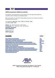 DPA Microphones - Arva Trading
