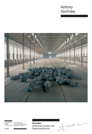 Antony Gormley - Weltkunst