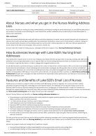 Nurses email database - Page 2