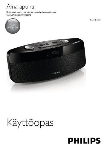 Philips Radio portable - Mode d'emploi - FIN