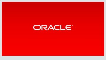 Oracle Database 12c Release 2 CoreTech Seminar
