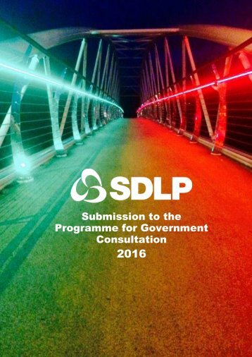 sdlp_programme_for_government_response