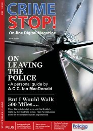 Crime Stop! Magazine - Issue 1