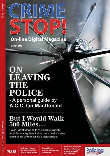 Crime Stop! Magazine - Issue 1
