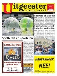 KagershoeK nee! www.progressief-uitgeest.nl - De Castricummer