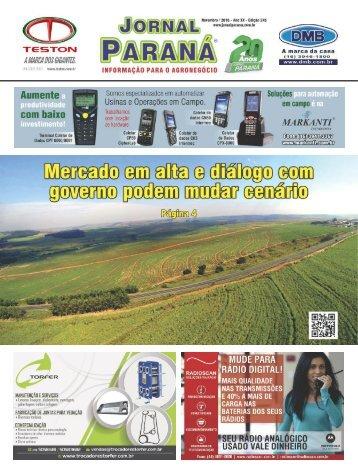 Jornal Paraná Novembro 2016