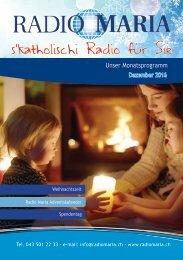 Radio Maria Schweiz - Dezember 2016
