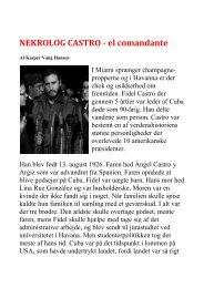 Nekrolog Castro - el comandante