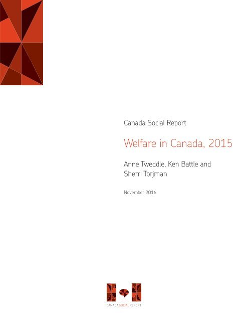 Welfare in Canada 2015