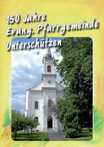 150 Jahre Geschichte Evangelische Kirche Unterschützen