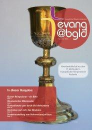 Diözesanzeitung evang@bgld Evangelische Diözese Burgenland